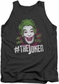 Batman Classic TV tank top #Joker adult charcoal
