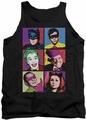 Batman Classic TV tank top Pop Cast adult black
