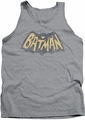 Batman Classic TV tank top Show Logo adult athletic heather