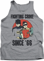 Batman Classic TV tank top Since 66 adult athletic heather