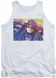 Batman Classic TV tank top Smooth Groove adult white