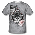 Batman front sublimation t-shirt Ace short sleeve White