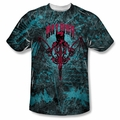 Batman front sublimation t-shirt Carpe Nocturn short sleeve White