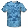 Batman front sublimation t-shirt Within short sleeve White
