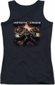 Batman Infinite Crisis juniors tank top Batmen black
