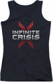 Batman Infinite Crisis juniors tank top Logo black