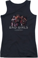 Batman Injustice Gods Among Us juniors tank top Bad Girls black
