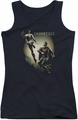Batman Injustice Gods Among Us juniors tank top Battle Of The Gods black