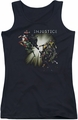 Batman Injustice Gods Among Us juniors tank top Good Vs Evil black