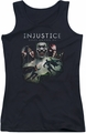 Batman Injustice Gods Among Us juniors tank top Key Art black