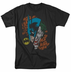Batman Joker Broken Visage DC Originals mens t-shirt