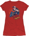 Batman juniors t-shirt Bane Attack! red