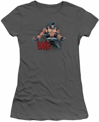 Batman juniors t-shirt Bane Flex charcoal