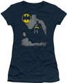 Batman juniors t-shirt Bat Knockout navy