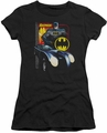 Batman juniors t-shirt Bat Racing black