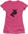 Batman juniors t-shirt Catwoman Rope hot pink