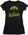 Batman juniors t-shirt Circle Bat black