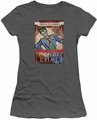 The Joker juniors t-shirt Clown Prince charcoal