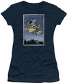Batman juniors t-shirt Dkr Duo navy