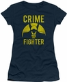 Batman juniors t-shirt Fight Crime navy