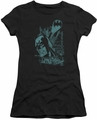 Batman juniors t-shirt Gritted Teeth black