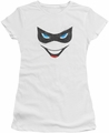 Harley Quinn juniors t-shirt Harley Face white