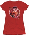 Harley Quinn juniors t-shirt Harley Q red
