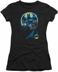 Batman juniors t-shirt Heed The Call black