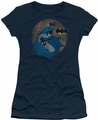 Batman juniors t-shirt In The Spotlight navy