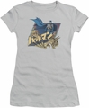 Batman juniors t-shirt Japanese Knight silver
