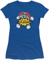 Batman juniors t-shirt Kaboom royal