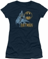 Batman juniors t-shirt Knight Watch navy