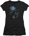 Batman juniors t-shirt Light Of The Moon black