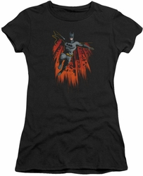 Batman juniors t-shirt Majestic black