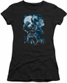 Batman juniors t-shirt Moonlight Bat black