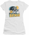Batman juniors t-shirt Night Off white