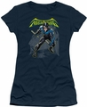 Batman juniors t-shirt Nightwing navy