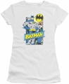 Batman juniors t-shirt Out of the Pages white