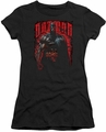 Batman juniors t-shirt Red Knight black