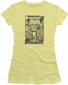 Batman juniors t-shirt Rogues Gallery Cover banana