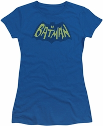 Batman juniors t-shirt Show Bat Logo royal