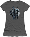 Batman juniors t-shirt Spotlight charcoal