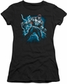 Batman juniors t-shirt Stormy Bane black
