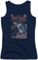 Joker juniors tank top #251 Distressed navy