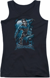 Nightwing juniors tank top All Grown Up black
