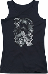 Batman juniors tank top Archenemies black