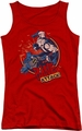 Batman juniors tank top Bane Attack! red