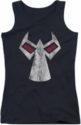 Batman juniors tank top Bane Mask black