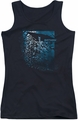 Batman juniors tank top Bat Among Bats black