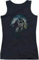 Batman juniors tank top Bat Cave black